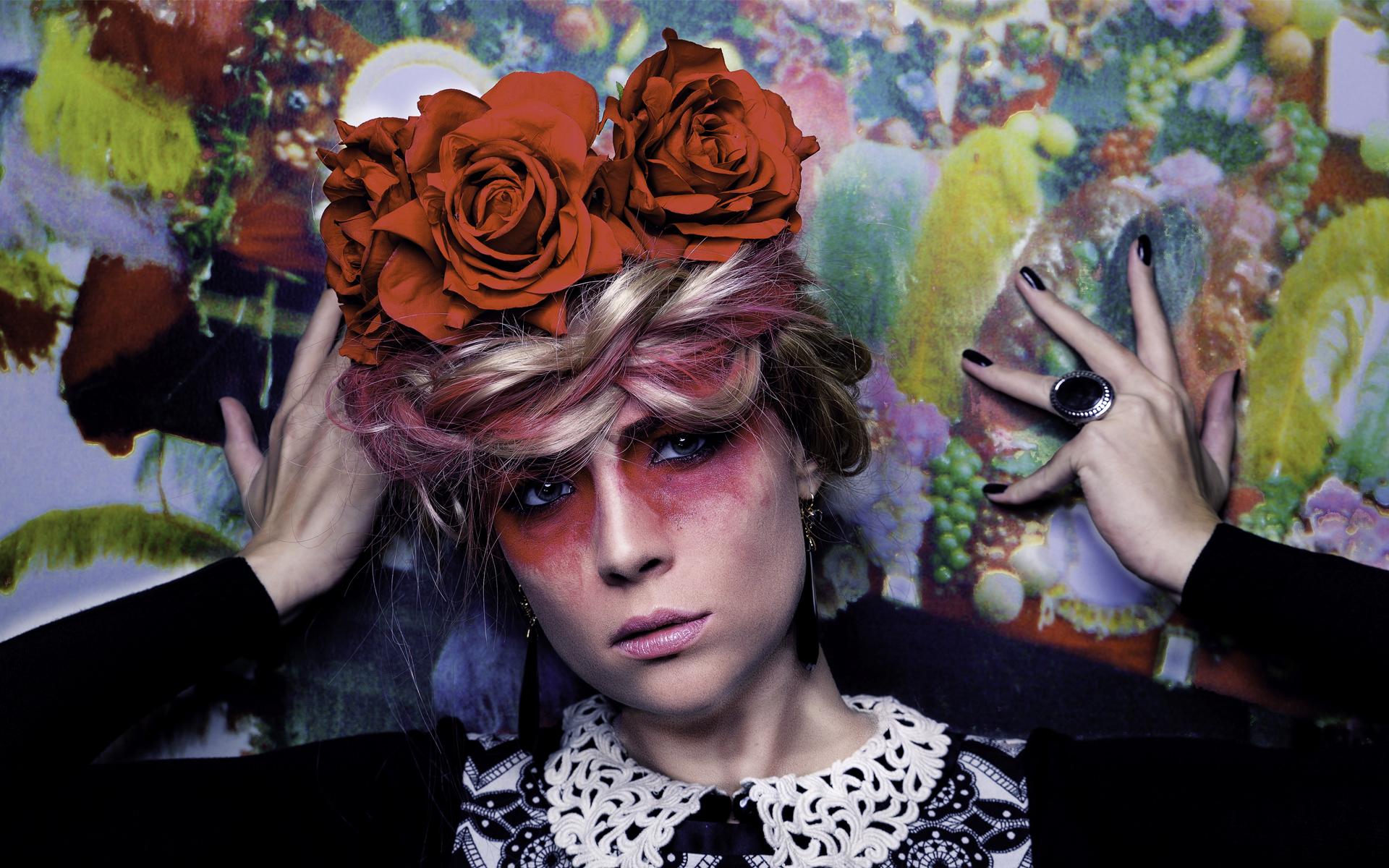Lincey als Frida Kahlo